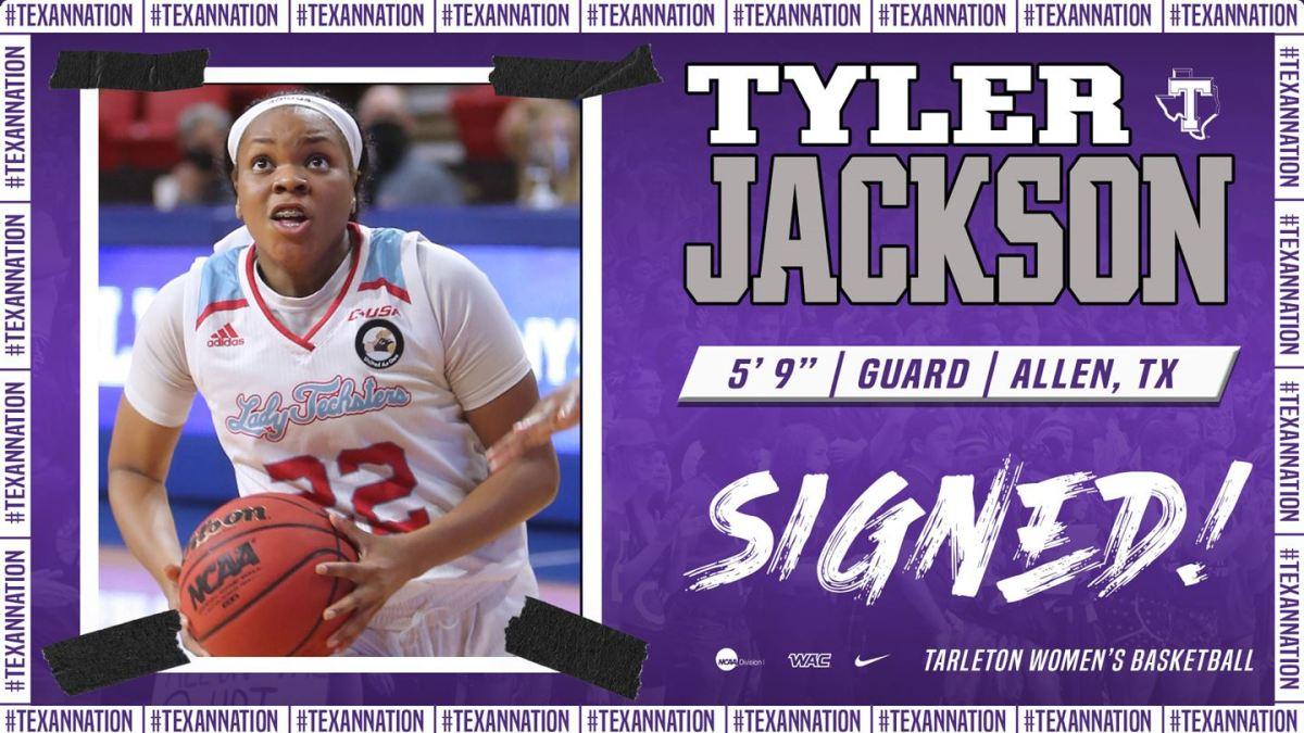 Tarleton lands former Louisiana Tech guard Tyler Jackson – The Flash Today