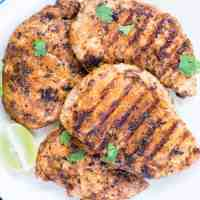 EASY GRILLED CHICKEN BREAST WITH BUTTERMILK MARINADE