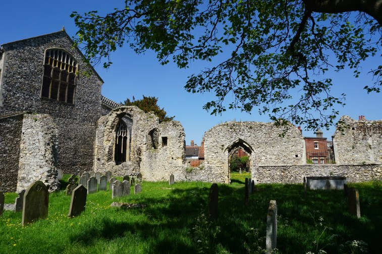 Ruins of Bungay Priory