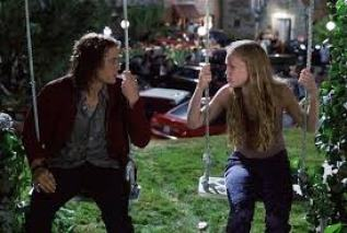 A clip from 10 things I hate about you
