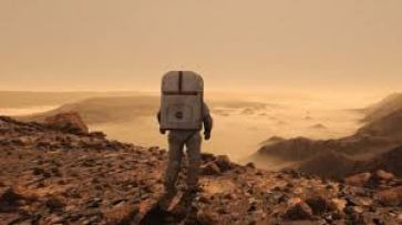 A clip from The Martian