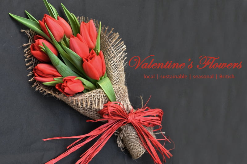 This Valentine's Say it with Seasonal English Flowers