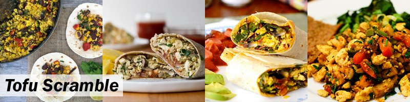 7 Easy Ways To Add Protein To Your Breakfast - Tofu Scramble