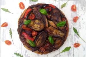 Roasted Mediterranean Vegetable Tatin by The Flexitarian