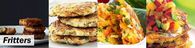 45 Meat-Free Kids' Lunch Box - Fritters