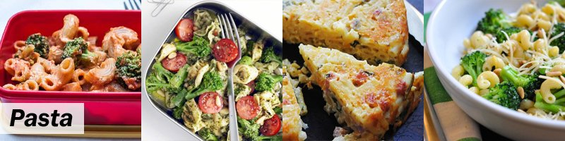 45 Meat-Free Kids' Lunch Box - Pasta