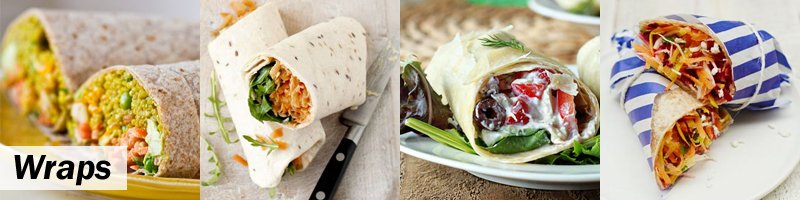 45 Meat-Free Kids' Lunch Box - Wraps