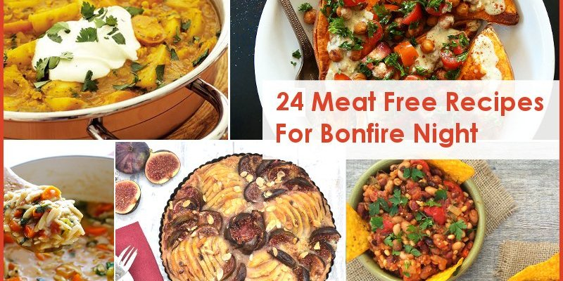 24 Meat Free Recipes For Bonfire Night