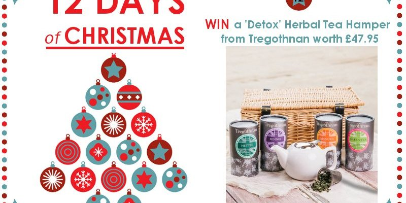 WIN a 'Detox' Herbal Tea Hamper from Tregothnan – 12 Days of Christmas Competition Day 12