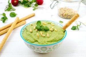 Watercress Hummus [vegan] by The Flexitarian