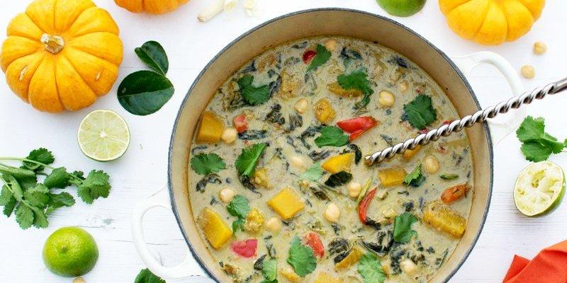 Thai Green Pumpkin Curry [vegan] [gluten free]