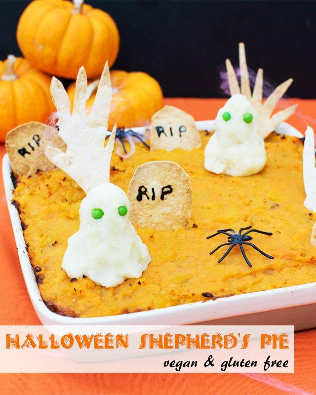 Halloween Shepherd's Pie [vegan] [gluten free] by The Flexitarian