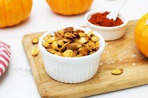 Roasted Pumpkin Seeds [vegan] by Th Flexitarian