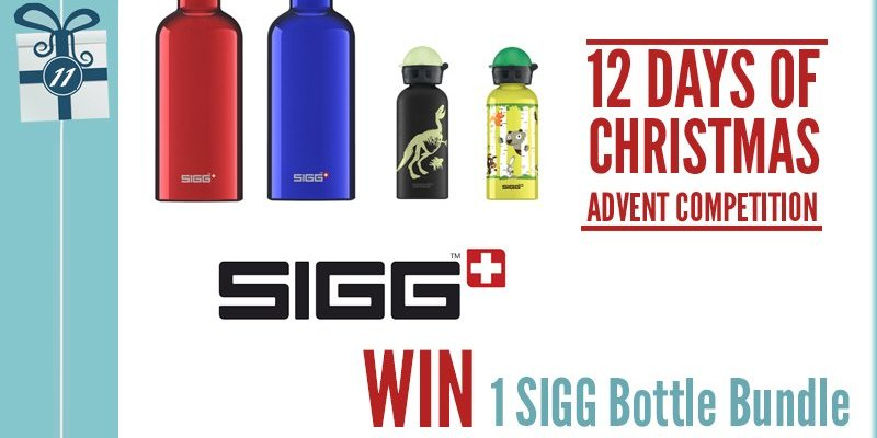 Advent Competition Day 11 – WIN 1 SIGG Bottle Bundle Worth £51.95