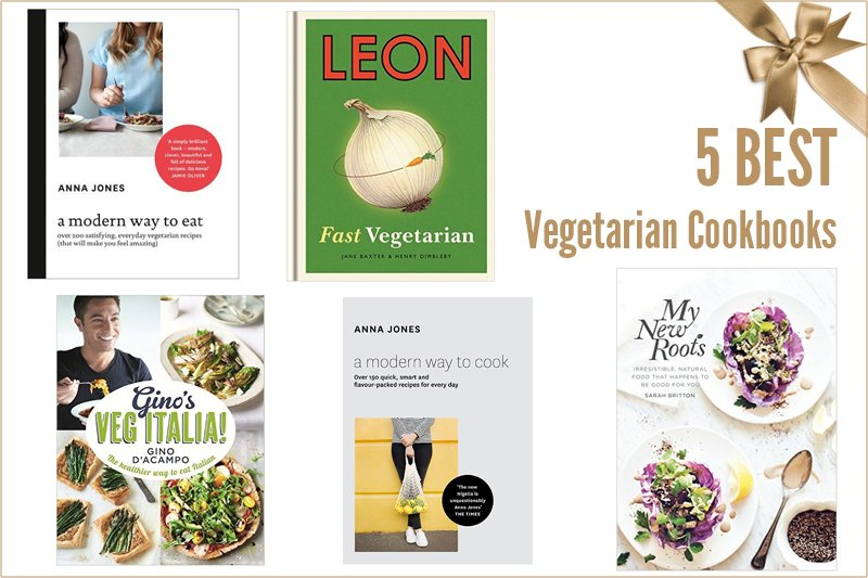 5 Best Vegetarian Cookbooks v800