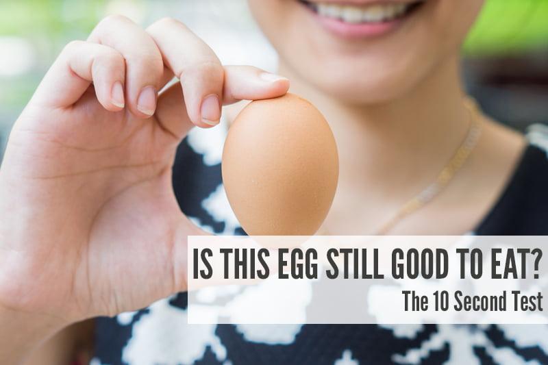 Is This Egg Still Good To Eat v800