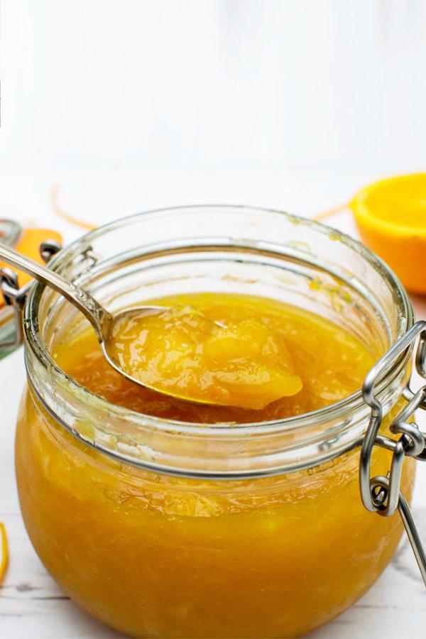Orange & Mango Jam [vegan] [gluten free] by The Flexitarian
