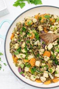Quorn & Lentil Casserole [vegetarian] [gluten free] by The Flexitarian