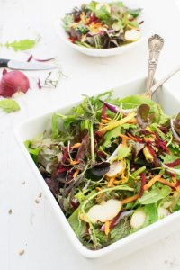 Beetroot, Carrot & Apple Salad With Toasted Seeds [vegan] [gluten free] by The Flexitarian