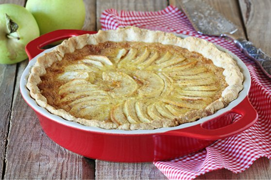 Apple and Spice Puff Pastry Tart[Text Wrapping Break]