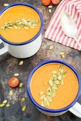 Creamy Tomato Soup [vegan] by The Flexitarian
