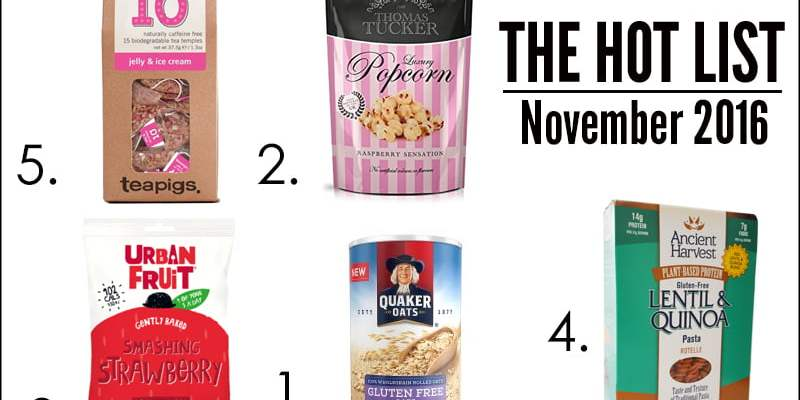 The Hot List - November 2016