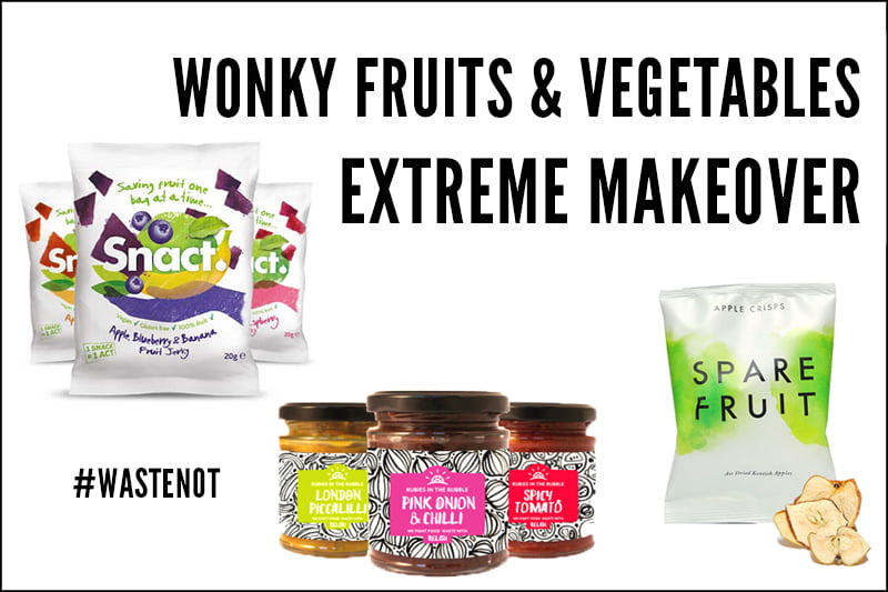 Wonky Fruits and Vegetables Extreme Makeover