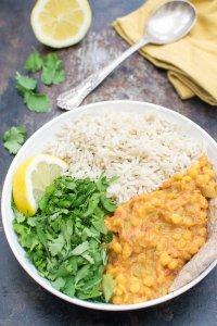 One-Pot Split Pea Curry [vegan] [gluten free] by The Flexitarian
