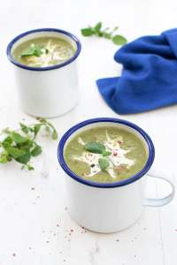 Watercress, Spinach & Leek Soup [vegan] [gluten free] by The Flexitarian