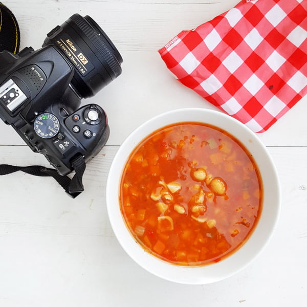 Minestrone with Wholewheat Pasta