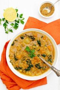 Hearty Lentil Soup [vegan] [gluten free] by The Flexitarian