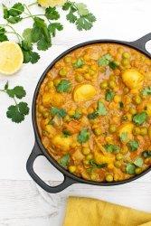 New Potato & Pea Curry [vegan] by The Flexitarian