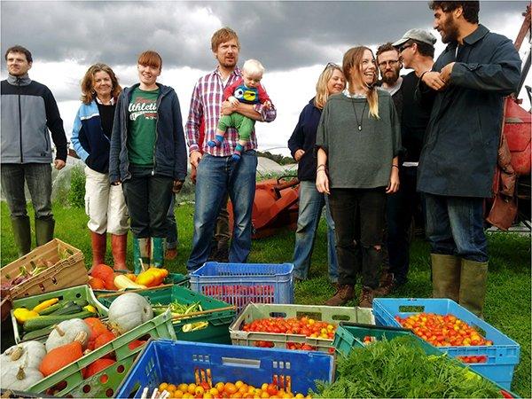 Sutton Community Farm Team