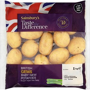 British Gems Baby New Potatoes