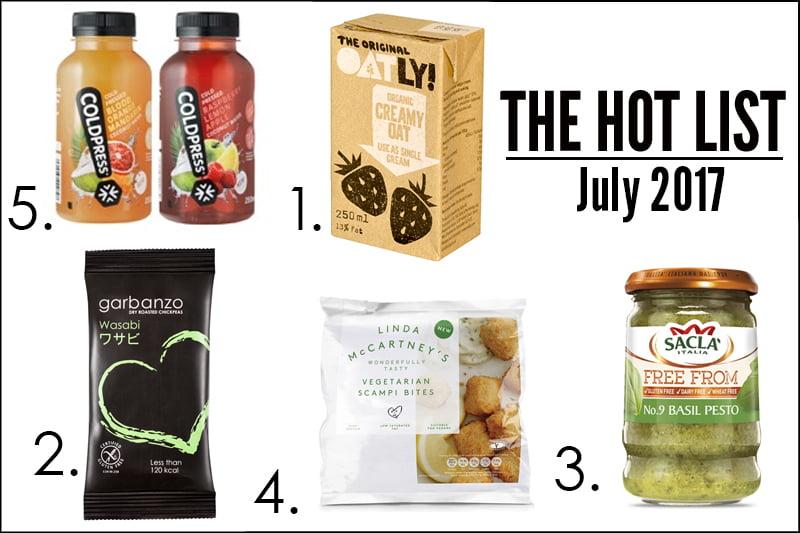 Hot List - July 2017