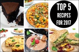 Top 5 Recipes 2017