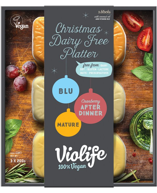 Violife Vegan Cheese Platter