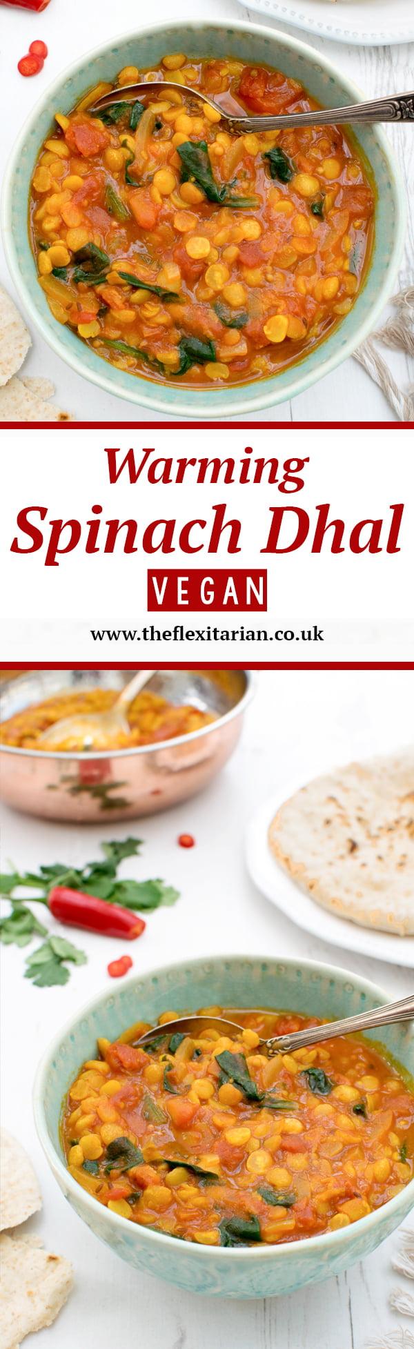 Warming Spinach Dahl [vegan] by The Flexitarian