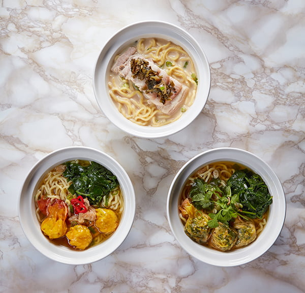 Ping Pong Noodle Soups