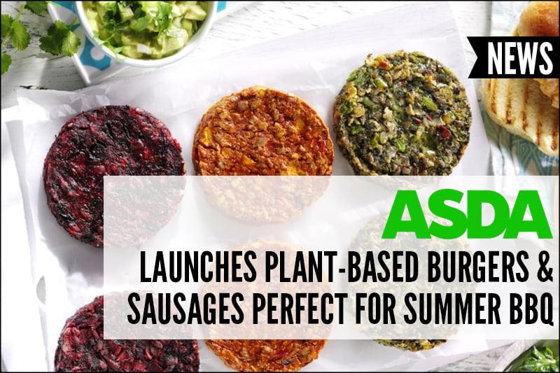 Asda Vegan Summer 2018