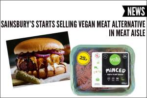 Sainsbury's Starts Selling Vegan Meat Alternative In Meat Aisle