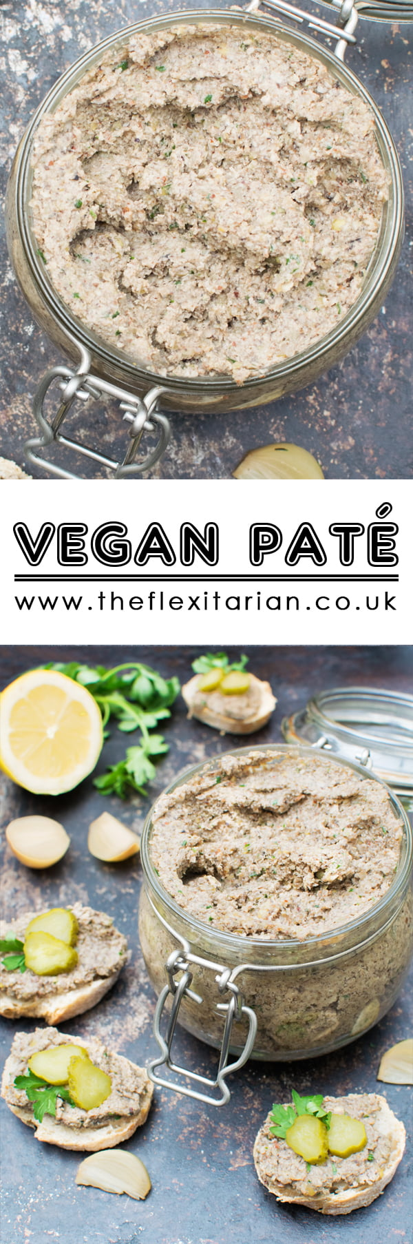 Vegan Pate [vegan] by The Flexitarian