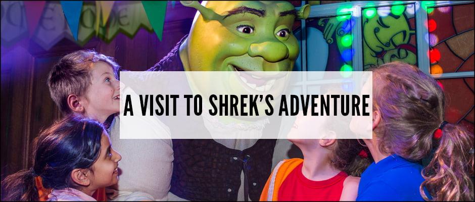 A Visit To Shrek's Adventure