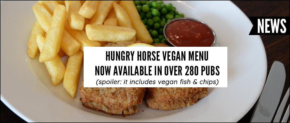 Hungry Horse Vegan Menu