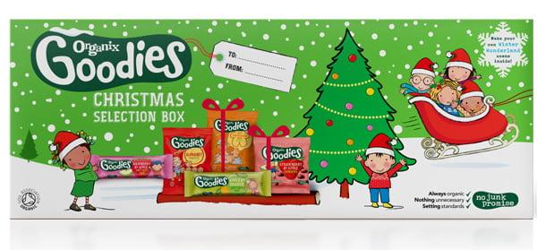 Organix Goodies Christmas Selection Box Small