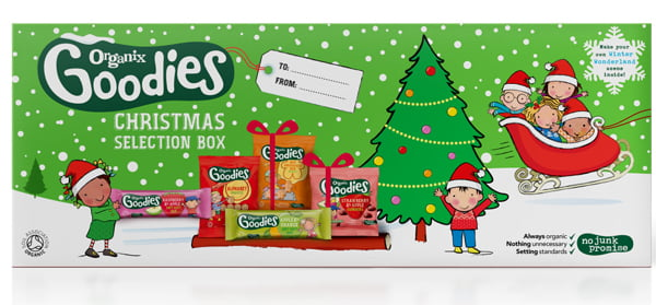 Organix Goodies Christmas Selection Box Small