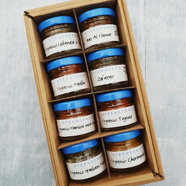 Steenbergs Mediterranean Mini 8 Spice Box