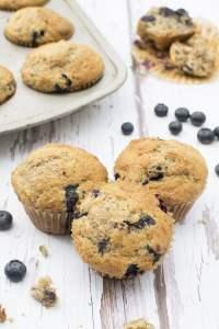 Blueberry Lemon Muffins [vegan] by The Flexitarian - Annabelle Randles ©