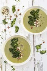 Jerusalem Artichoke & Kale Soup [vegan] by The Flexitarian