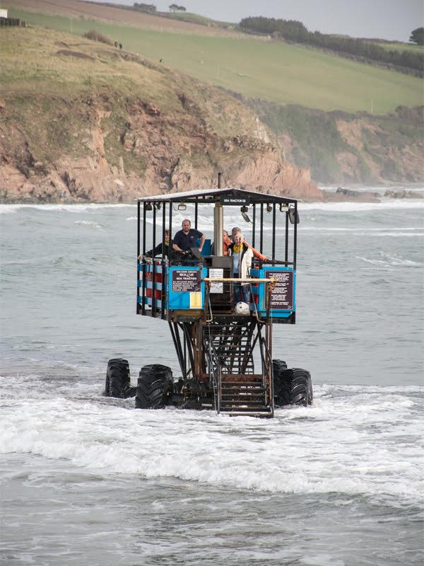 South Devon Burgh Island Sea Tractor